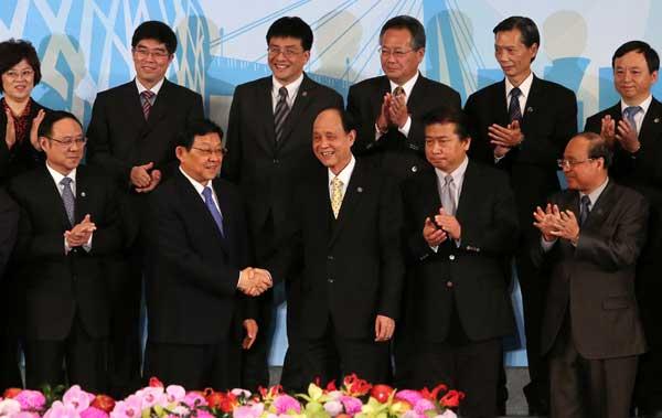 Ties with Taiwan enhanced