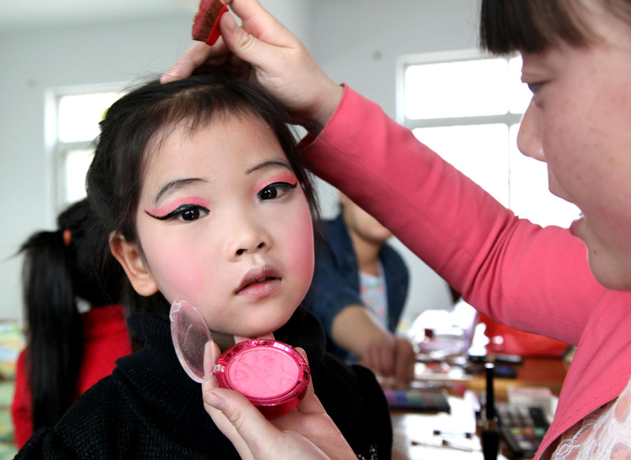 children showcase chinese culture 1 chinadaily com cn