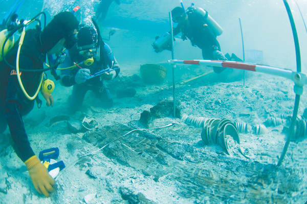 Ancient ship tells stories of Maritime Silk Road