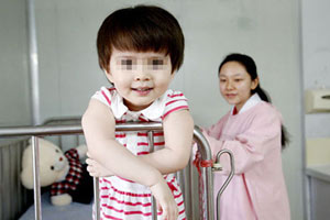 Guangzhou hospital offers hope to tumor girl