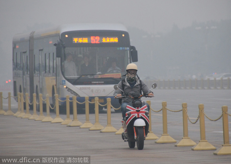 Life amid smog in northern and central China[3
