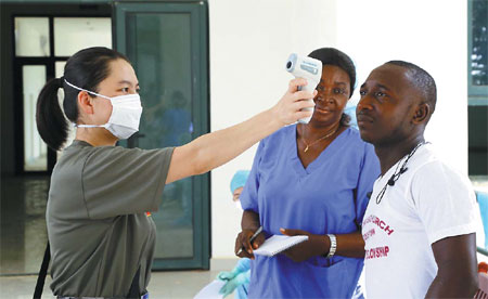 Algeria freezes business dealings with Ebola-hit African