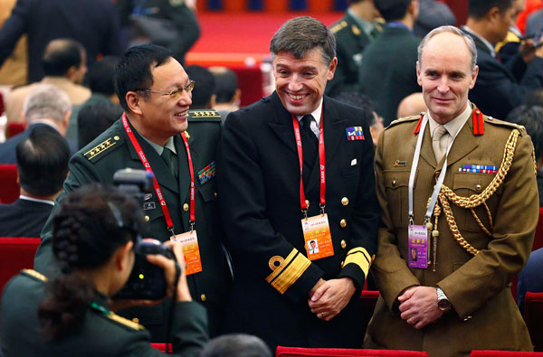 Regional military chiefs hail Beijing's security proposal