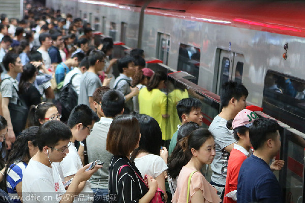 Sihui China  city photo : Commuting time in capital averages 97 minutes[1] Chinadaily.com.cn