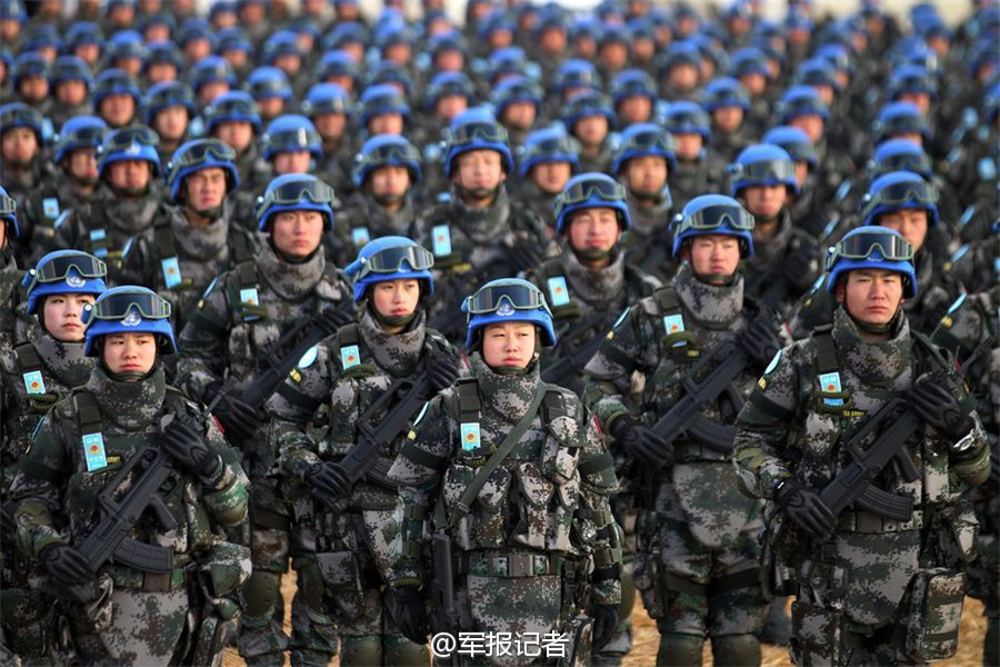 Image result for Chinese UN Peace Keepers