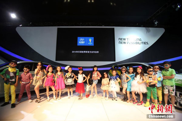 Models and children banned from Shanghai auto show