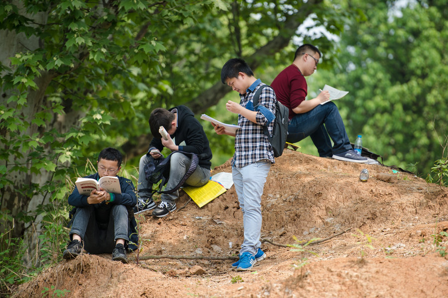 Ancient China Civil Service : Record turnout for hubei civil service exam chinadaily