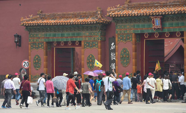 Palace Museum to limit daily visitor number by 80,000