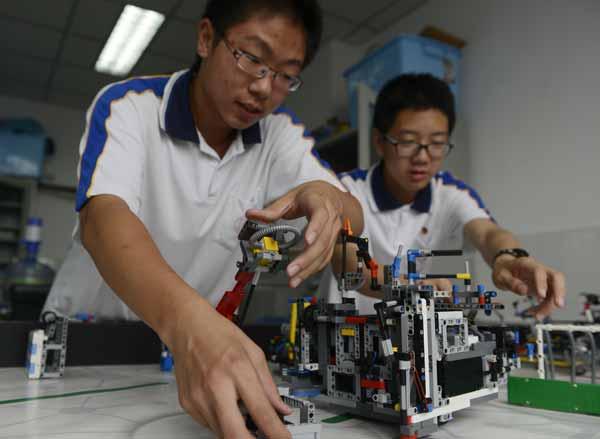 Robotics Programs Gaining Ground 1 Chinadaily Com Cn