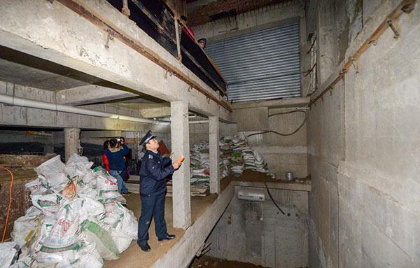 Beijing Cracks Largest Illegal Basement Construction Case