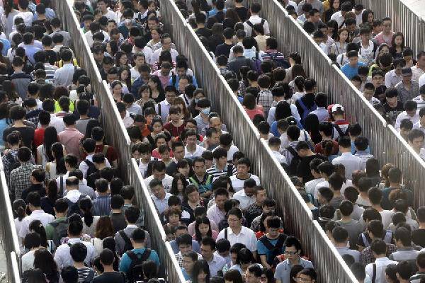 overpopulation issues in china