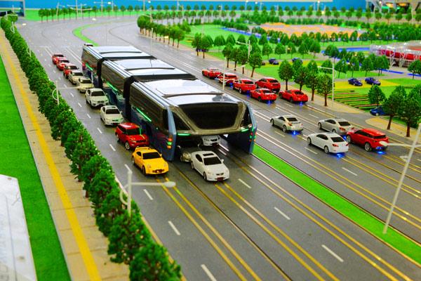 澳门娱乐城:那东西是什么?创新巴士看起来像一个移动的隧道