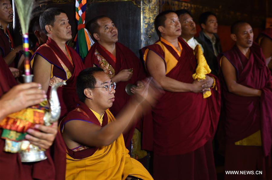 百家乐游戏:第十一世班禅在总结西藏的宗教活动