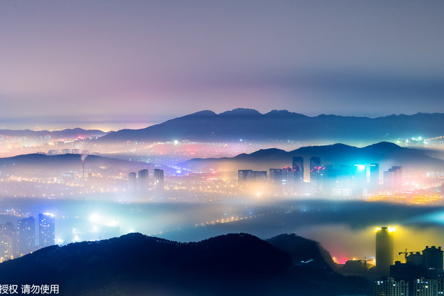 皇冠新2网址:雾变成青岛市成仙境