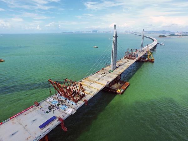 Hk Bridge Ready For Pavement