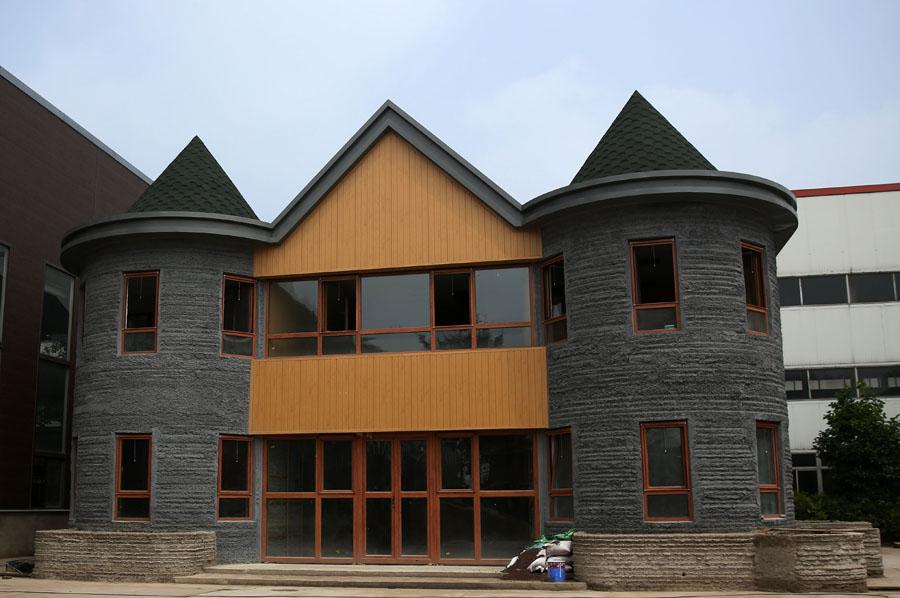 3d printet hus