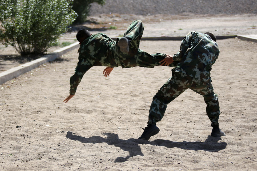 rough and tough world of soldiers training 1 chinadaily com cn