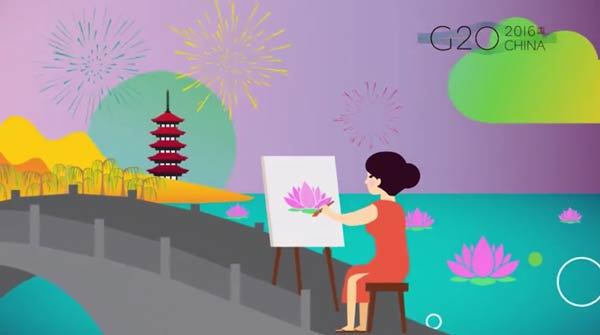 Cheery promotional video introduces G20 city Hangzhou to Europe