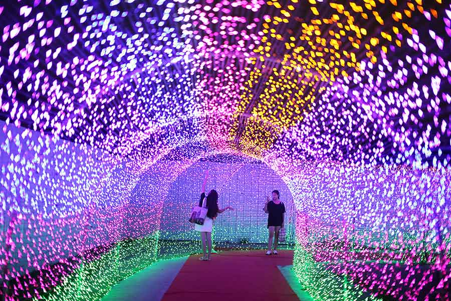 Millions of LED lights shine in E China  sc 1 st  China Daily & Millions of LED lights shine in E China[2]- Chinadaily.com.cn azcodes.com