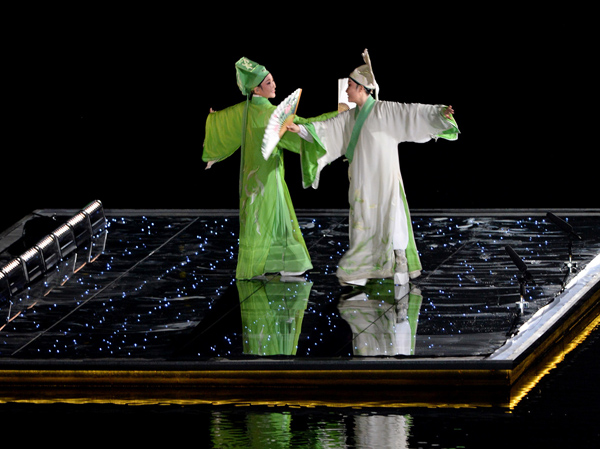 Classic tales from East and West converge in lake extravaganza