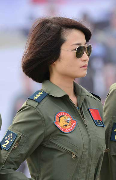 Woman fighter pilot inspired nation
