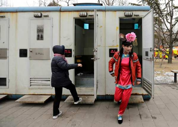 China plans 'toilet revolution' to boost tourism