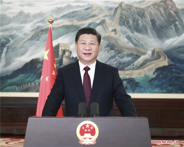 president xi extends good wishes in new year speech