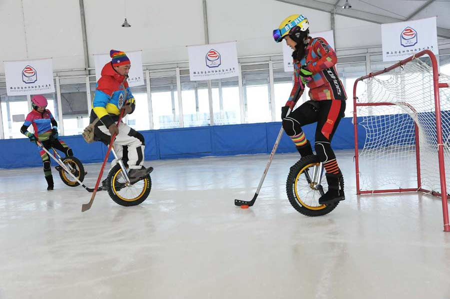 Ditching ice skates for wheels on the hockey rink[1