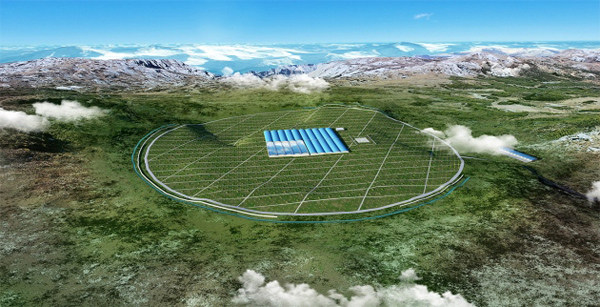 China starts building huge cosmic-ray observatory to study the evolution of the universe