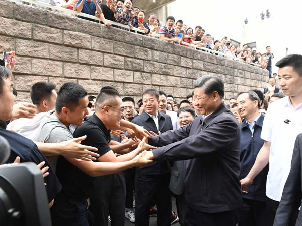 Xi stresses rule of law, cultivating legal talent[1 ...