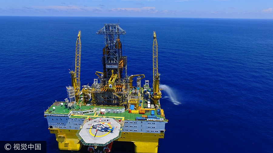 China achieves major milestone in mining of combustible ice