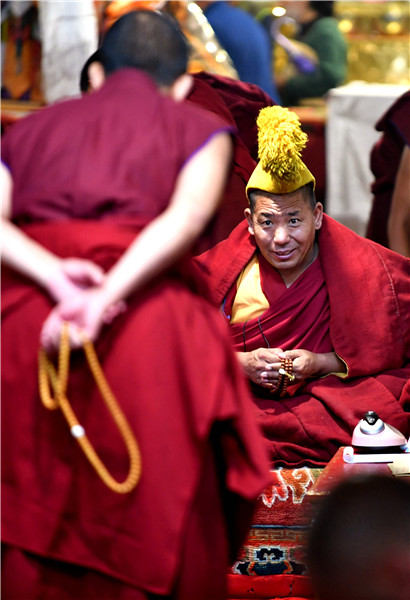 Monks chase Buddhism's highest degree
