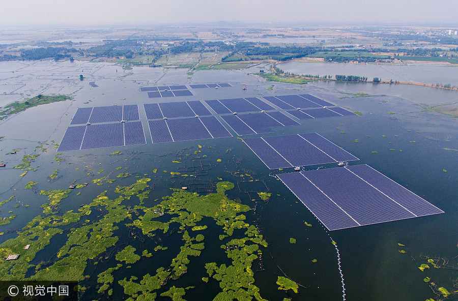 World S Largest Floating Solar Farm Starts Operating 1
