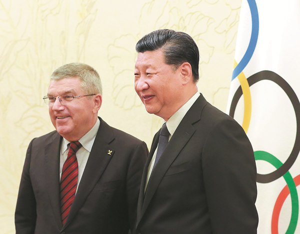 China to Make Sure 2022 Winter Olympic Games Great Success: Xi