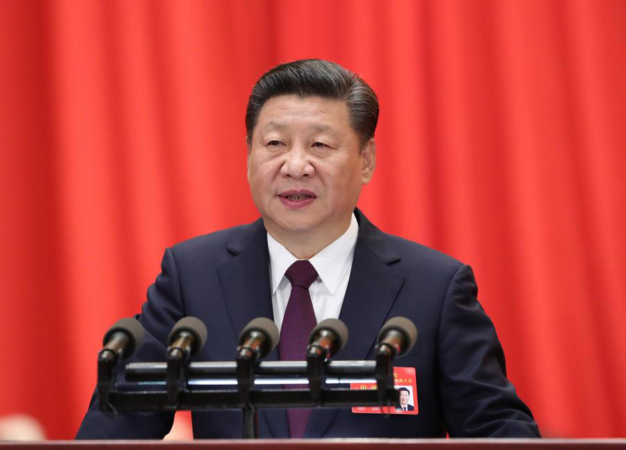 Xi Jinping delivers report to 19th CPC National Congress