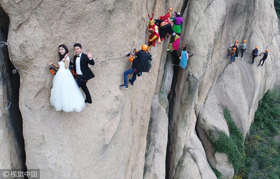 Cn Wedding Photography: Ten Photos From Across China: Nov 10-16[6]- Chinadaily.com.cn