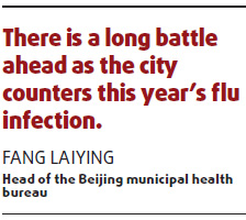 H1N1 claims first Beijing victim
