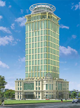 Ocic Tower Constructing Cambodia