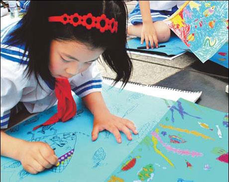 تعليم الرسم لمرحله رياض الاطفال والحضانه والمرحله الابتدائيه