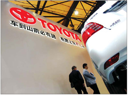 Recovering output for Japanese automakers