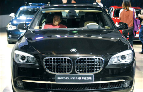BMW to export its China-made sedan|Auto Guangzhou 2011 ...