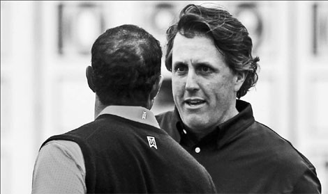 Lefty starting to get measure of tiger|Sports|chin