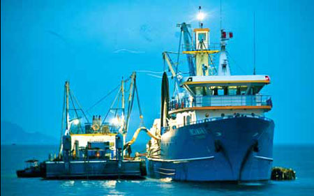 Fisheries sector reels in foreign investors