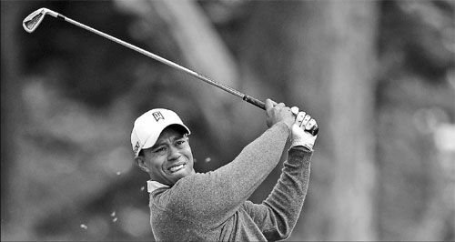 It's just like old times for Tiger|Sports|chinadaily