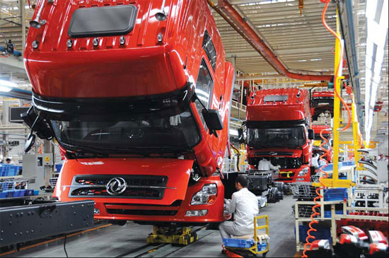Dongfeng and Volvo ink tie up for heavy trucks