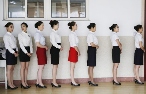 what to wear for air hostess interview