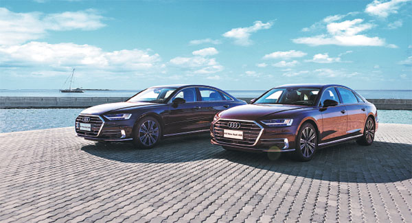 Super Luxury Audi AL Redefines The Pathway To Intelligent Driving - Audi a8l