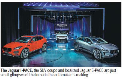 Dual power skyrockets Jaguar Land Rover