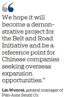 Massive Chinese project in Saudi Arabia makes big breakthroughs