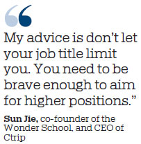 'Wonder' women set sights high with launch of leadership boot camp